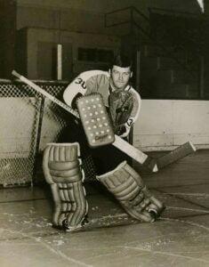 Bernie Parent of the Philadelphia Flyers Alumni Organization