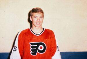 Clarke of the Philadelphia Flyers Alumni Organization