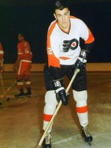 Dornhoefer of the Philadelphia Flyers Alumni Organization