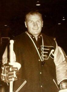 Stasiuk of the Philadelphia Flyers Alumni Organization